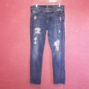 7 for all mankind jeans josefina skinny boyfriend